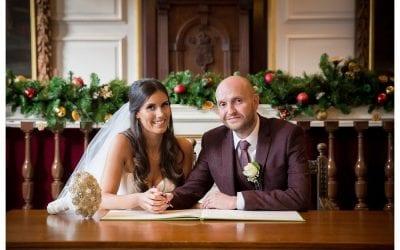 Neil and Jenny's Winter wedding