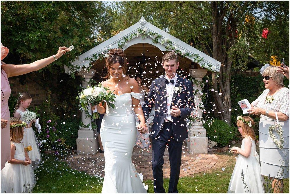 Del and Katy's Marleybrook House Wedding