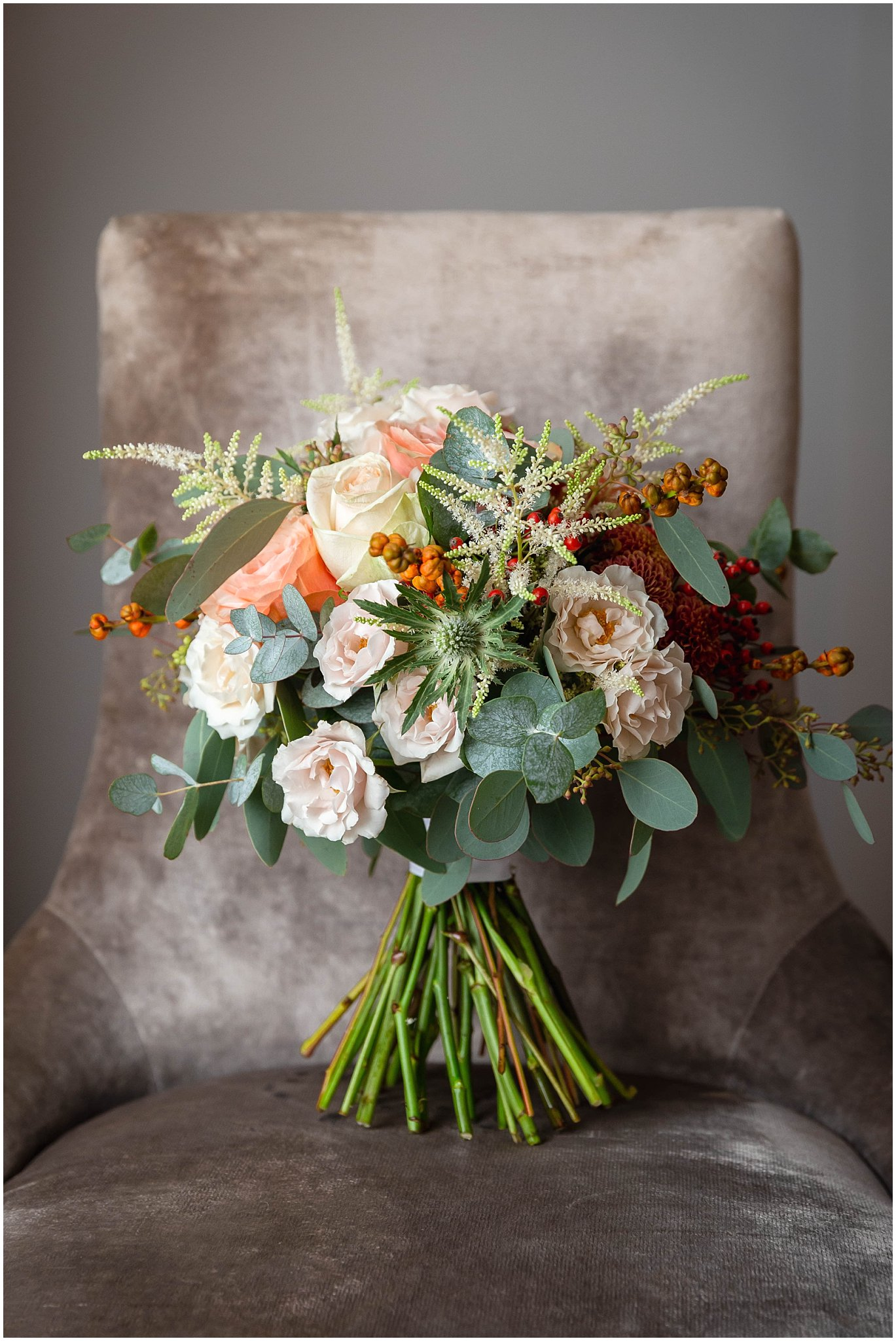 Autumn wedding flowers Wedding photos kent
