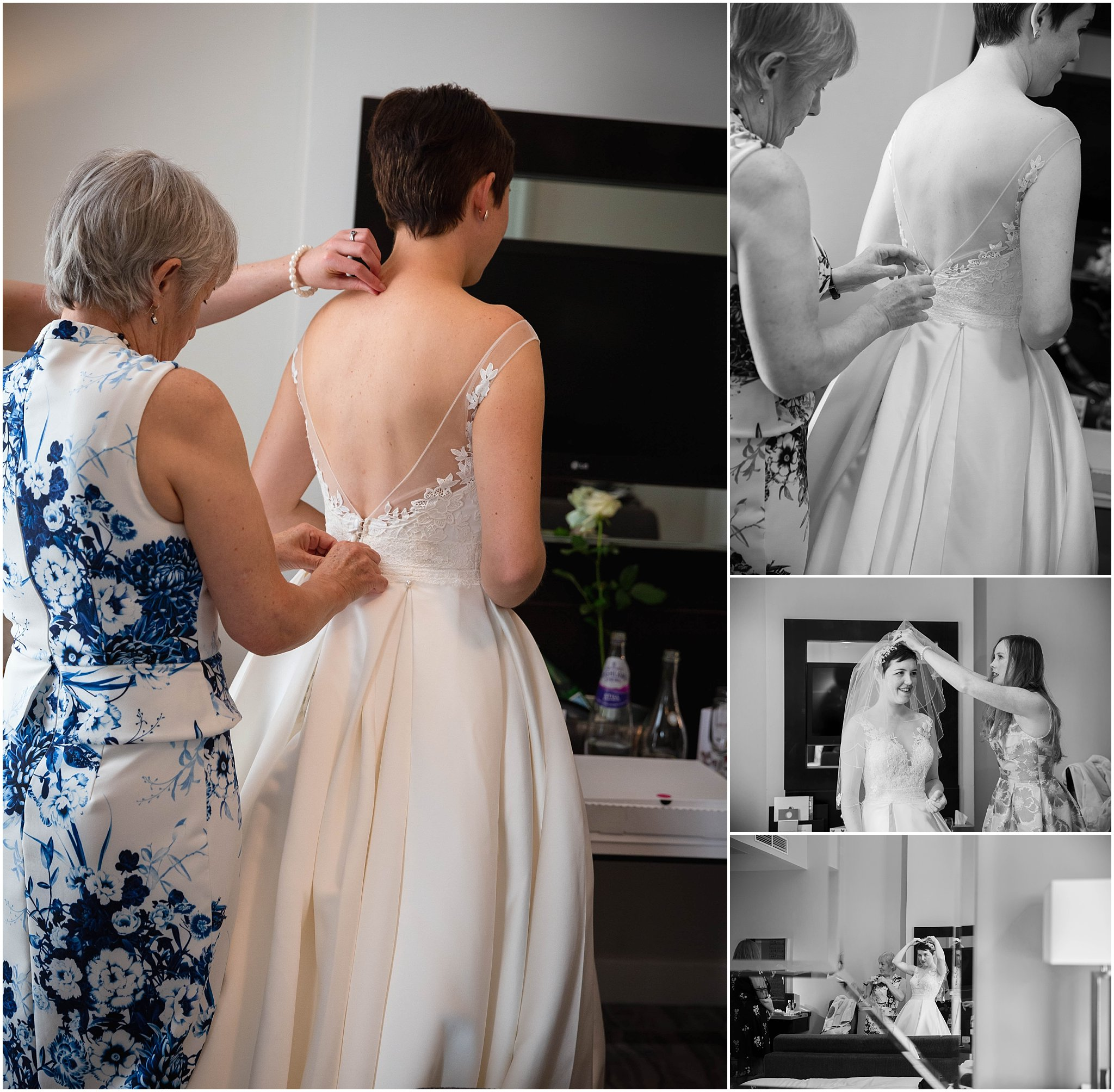 Bridal Prep photography Doubletree Greenwich