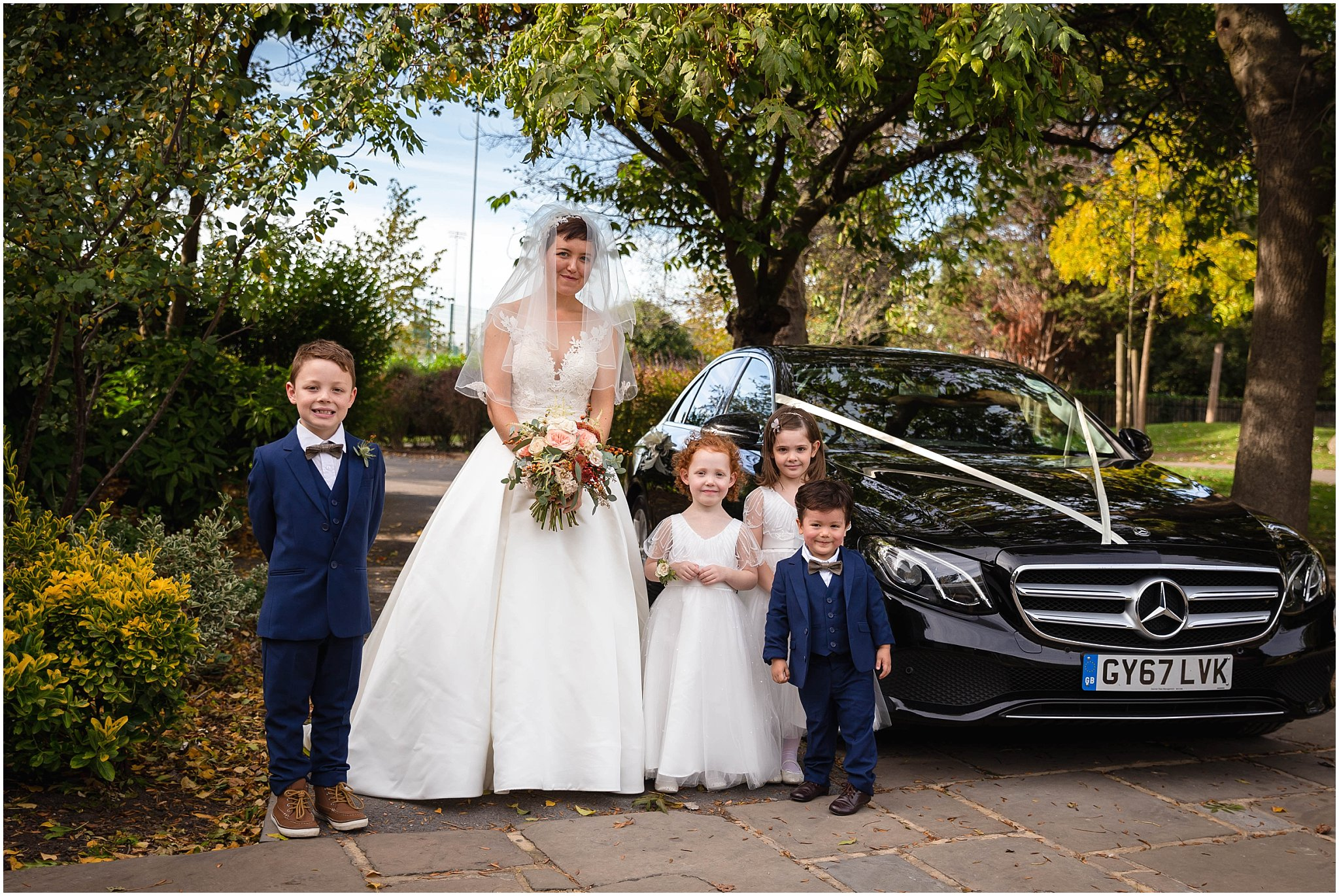 Wedding Car photography kent