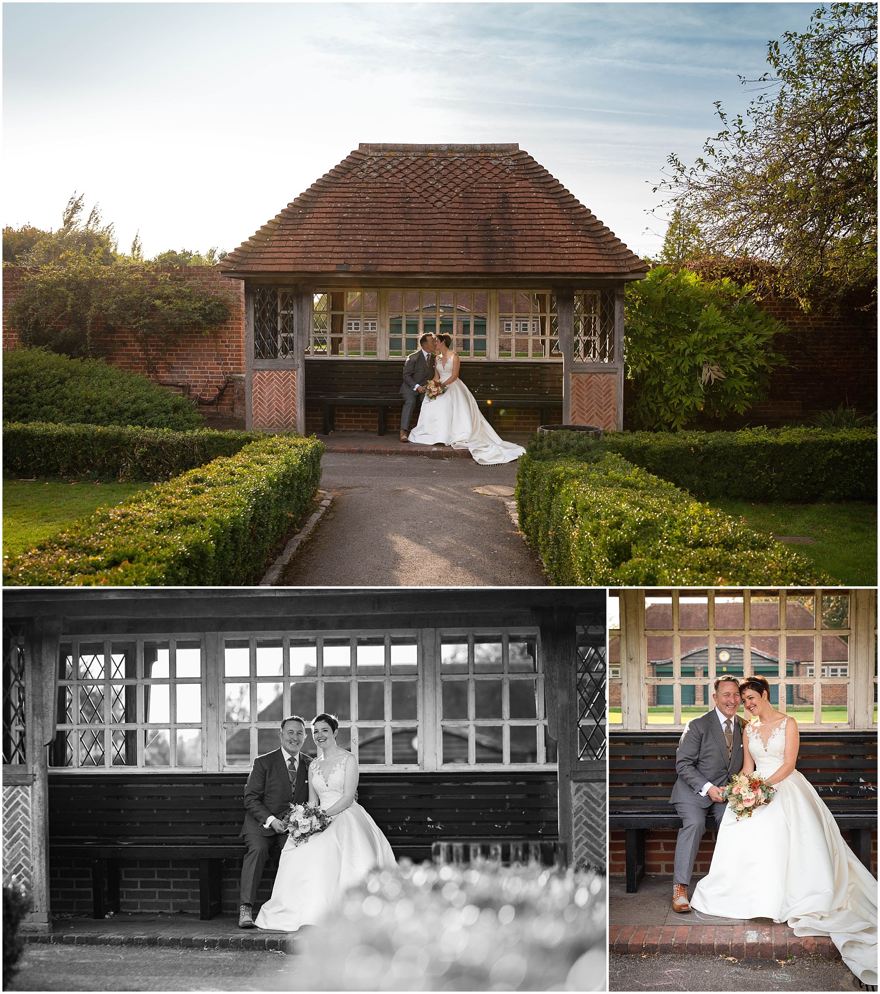 Wedding Tudor barn Eltham