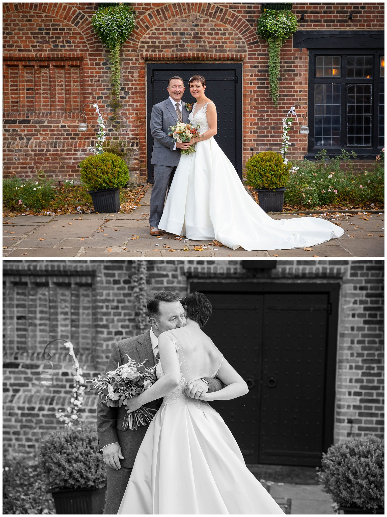 wedding atThe tudor barn eltham