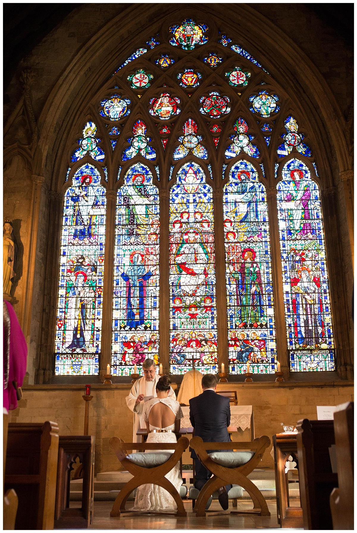St Etheldredas Church London Wedding